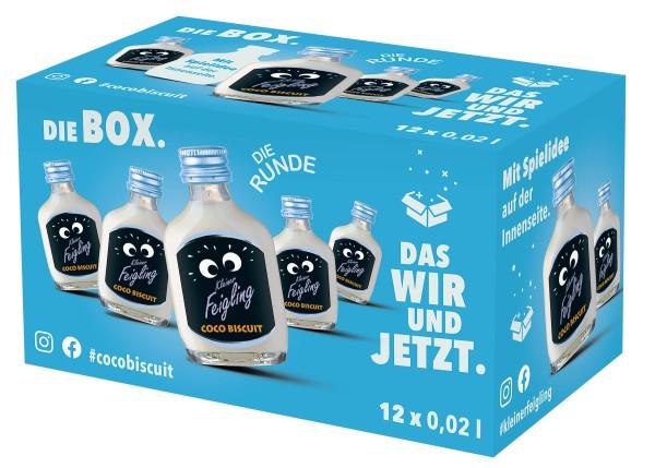 Kleiner Feigling Coco Biscuit 12x0,02l Box mit Spiel