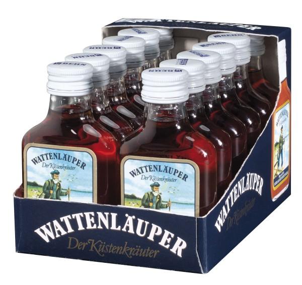 WATTENLÄUPER 12x0,1l Taschenflasche