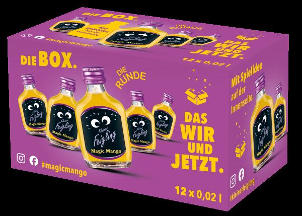 Kleiner Feigling Magic Mango 12x0,02l Box mit Spiel