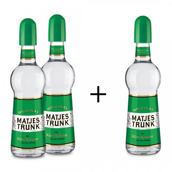 2 Fl. MATJESTRUNK 0,5l +1 Flasche (gratis)
