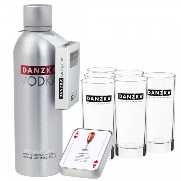 DANZKA Vodka Cocktailpaket 0,7l