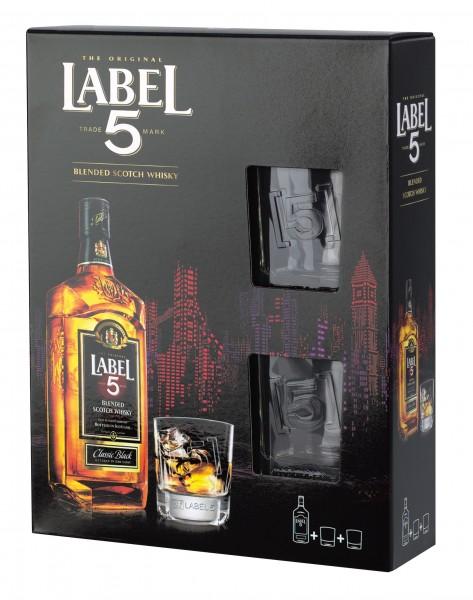 LABEL 5 Geschenkpackung 0,5l