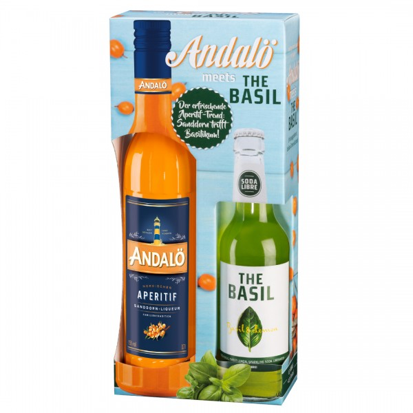 Andalo-Basil-Aktionspackung
