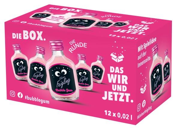 Kleiner Feigling Bubble Gum 12x0,02l Box mit Spiel