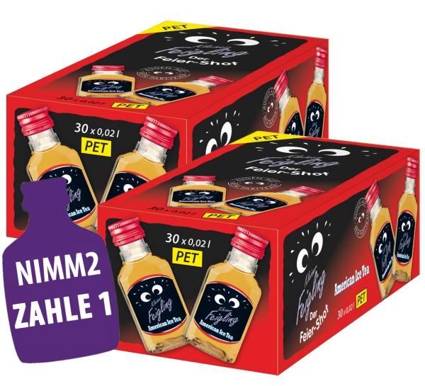 2x Kleiner Feigling American Ice-Tea 30x0,02l PET-Flaschen