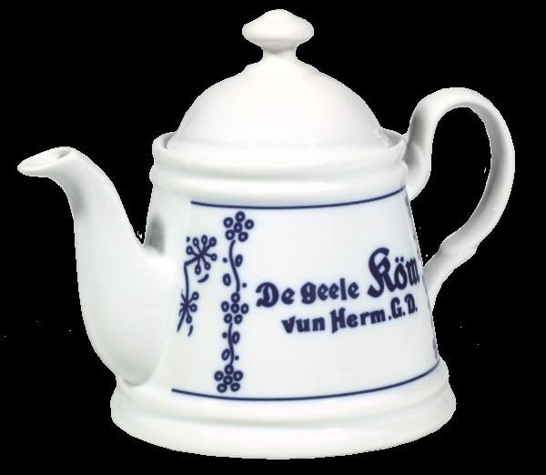 De geele Köm Teekanne