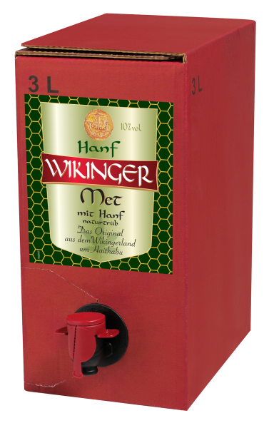 Hanf Wikinger Met 3l Bag in Box