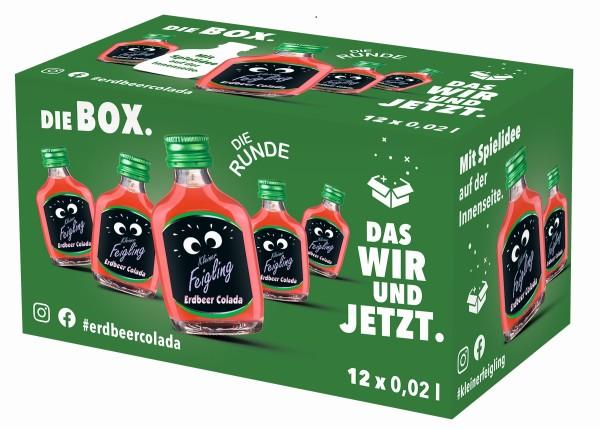 Kleiner Feigling Erdbeer Colada 12x0,02l Box mit Spiel