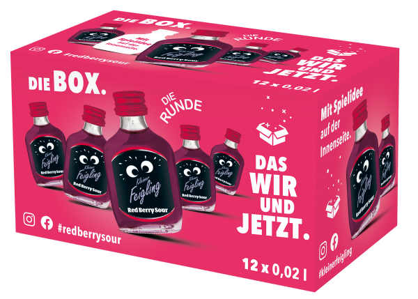 Kleiner-Feigling-Red-Berry-Sour-12x20ml-Schachtel