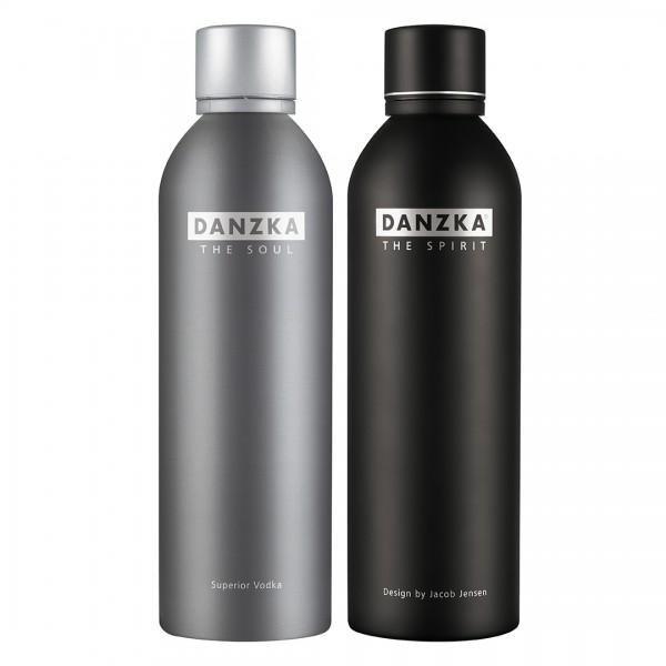 DANZKA Vodka Set The Spirit 1,0l + The Soul 0,7l