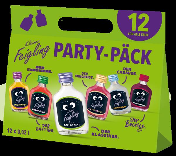 Kleiner Feigling Party-Päck 12x0,02l